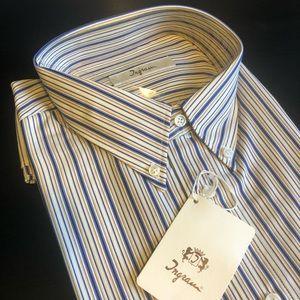 Ingram Made In Italy Dress Shirt XL